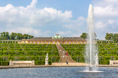 Sanssouci in Potsdam Royalty Free Stock Photography