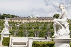 Sanssouci Pruisisch Paleis Potsdam Duitsland Stock Foto