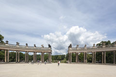Sanssouci Prussian Palace Potsdam Germany Royalty Free Stock Image