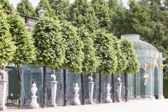 Sanssouci Prussian slott Arkivfoton
