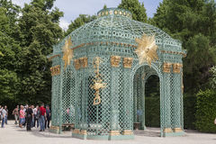Sanssouci Prussian slottPotsdam Tyskland Arkivbilder