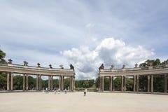 Sanssouci Prussian slottPotsdam Tyskland Royaltyfri Bild