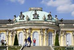 Sanssouci slott i Potsdam Royaltyfria Bilder