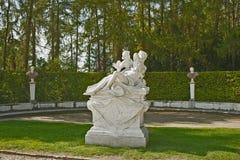Sanssouci slott, Potsdam, Tyskland Royaltyfria Foton