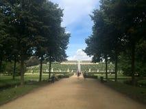 Sanssouci trädgårdsikt Arkivbilder