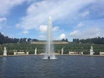 Sanssouci trädgårdsikt Royaltyfria Bilder