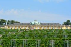 Sansusi palace. The photo of sansusi palace in Potsdam, Germany Royalty Free Stock Photography