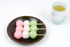 Sansyoku-dango Royalty Free Stock Photography