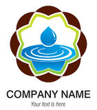 santé centrale de logo illustration de vecteur