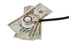 santé de coûts de soin Image stock
