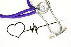 Santé de coeur photo stock