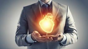 Santé de coeur Image libre de droits