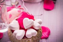 Santé de corps d'amour de coeur de jour de valentines de composition en station thermale Image stock