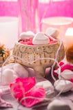Santé de corps d'amour de coeur de jour de valentines de composition en station thermale Images libres de droits