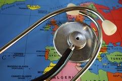Santé de l'Europe Images libres de droits