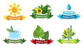 Santé de logos Photographie stock libre de droits