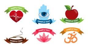 Santé de logos Photos libres de droits