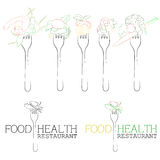santé de nourriture Photographie stock libre de droits