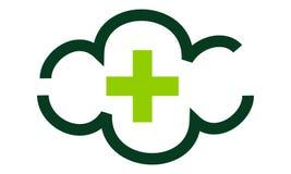 Santé de nuage de Digital illustration de vecteur