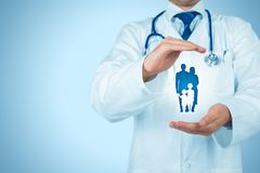 Santé et assurance-maladie photographie stock