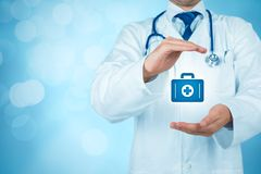 Santé et assurance-maladie photo libre de droits