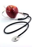 Santé et fruits Photos libres de droits