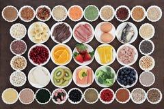 Santé et nourriture de régime de musculation Photographie stock libre de droits