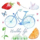 Santé et vie Photo stock