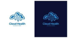 Santé Logo Design Concept, différents types de logos de santé, Logo Design Vector simple Photo stock