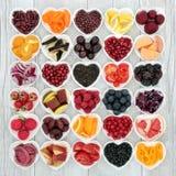 Santé superbe favorisant la nourriture Photos stock