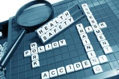 Santés et sécurité Photos stock