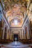 Sant伊格纳措教会在罗马 库存照片