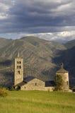 Sant和Sant牧师教会, XI-XII世纪罗马式,儿子 免版税库存图片