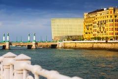 Sant塞巴斯蒂安看法  免版税库存图片