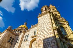 Sant安东尼教会- Templo de圣安东尼奥de帕多瓦, Aguascalie 免版税图库摄影