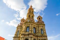Sant安东尼教会- Templo de圣安东尼奥de帕多瓦, Aguascalie 免版税库存图片