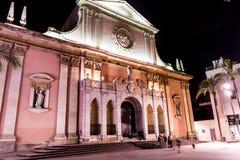 Sant安东尼Abat教会在西班牙 库存照片