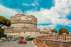 sant安吉洛的castel 免版税库存照片