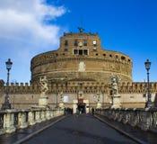 sant安吉洛的castel 库存图片