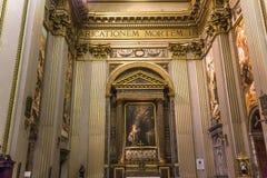 Sant安德里亚della瓦尔大教堂,罗马,意大利 免版税库存照片