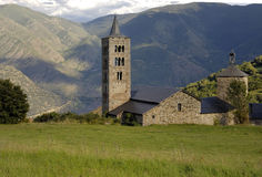Sant ακριβώς και εκκλησία παστόρων Sant, XIXII αιώνας Romanesque, γιος Στοκ Φωτογραφίες