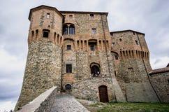 SANT'AGATA FELTRIA. Castle of Sant'Agata Feltria Stock Image