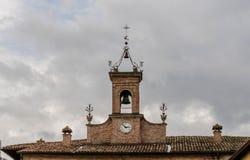 SANT'AGATA FELTRIA. Detail of architecture in Sant'Agata Feltria Stock Photography