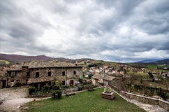 SANT'AGATA FELTRIA. Panorama in Sant'Agata Feltria Royalty Free Stock Photos
