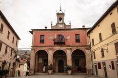 SANT'AGATA FELTRIA. Place in Sant'Agata Feltria Stock Image