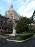 Sant Agata at Piazza Duomo Stock Photo