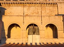 Sant Agata square Royalty Free Stock Image