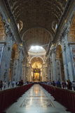 Sant ` Agnese在过去的罗马,意大利 图库摄影