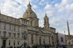 Sant Agnese in Agone Stockfoto