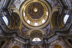 Sant Agnese in Agone church, Rome, Italy Royalty Free Stock Photos